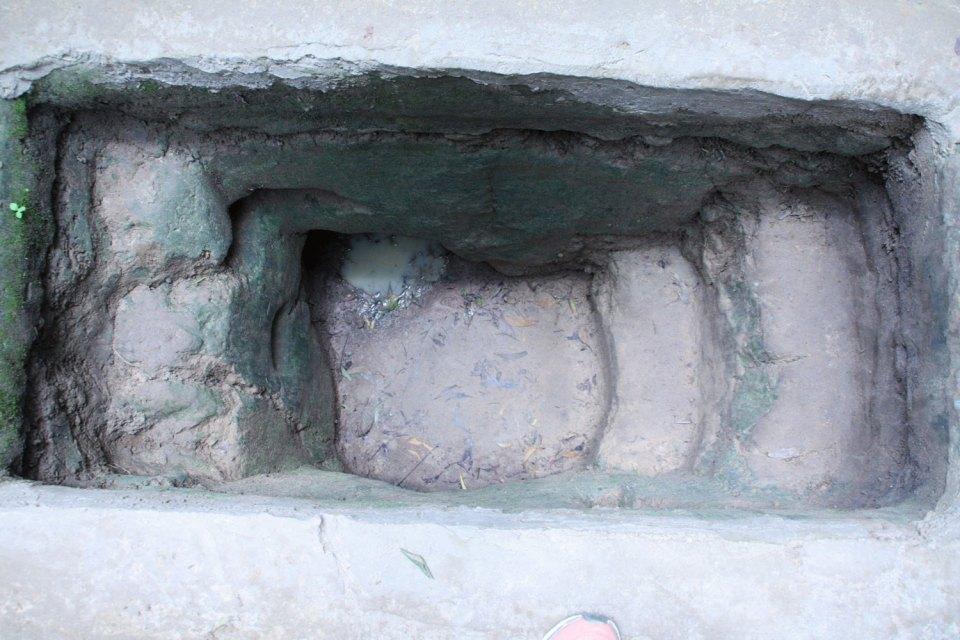 Eingang zu den Tunneln