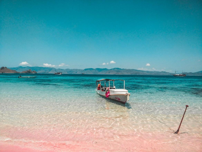 Pink Beach Komodo Nationalpark