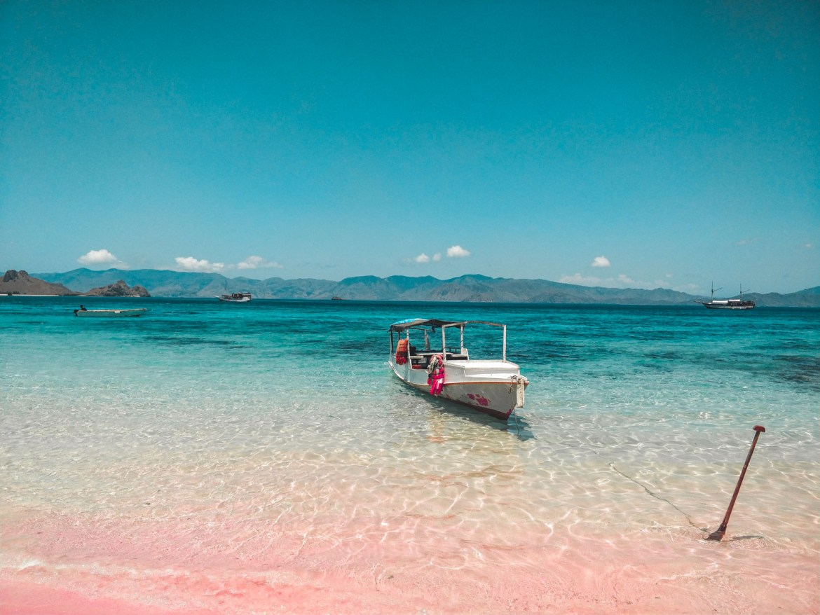 Pink Beach Komodo Nationalpark