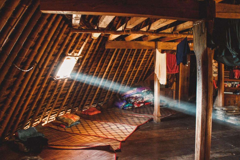 Hut in Wae Rebo