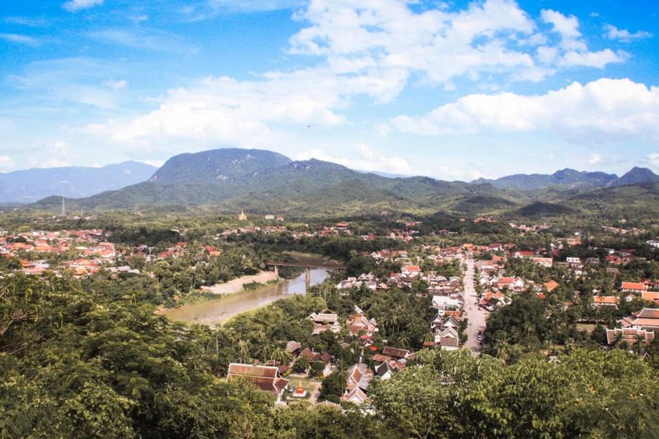 Luang Prabang von Oben