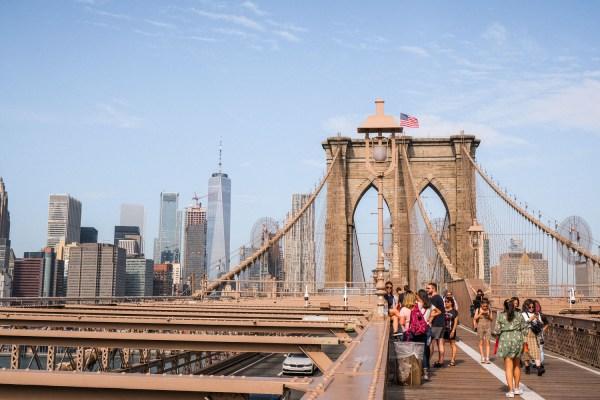 New York zu Fuß