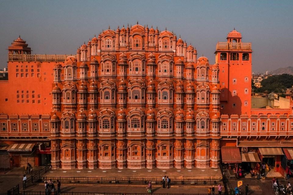 Hawa Mahal eine der Jaipur Sehenswürdigkeiten