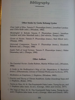 The bibliography - from Heart of Wisdom, pub. 1989 (2nd edition) shows that Ocean of Nectar was first translated by Tenzin P. Phunrabpa,