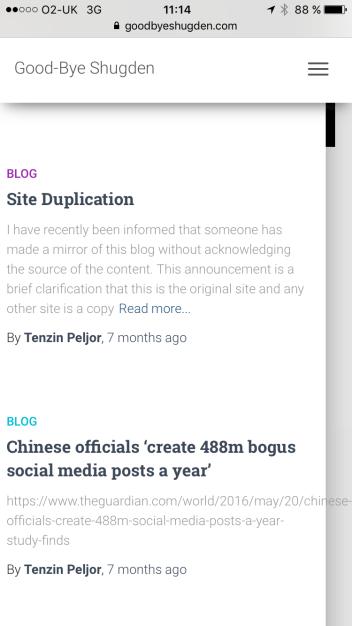 goodbyeshugden.com fake site
