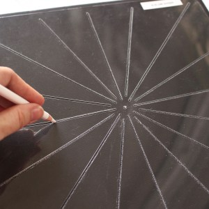 11″ Dot Mandala Divider Stencils – 2 Stencils (12 and 16 dividers)
