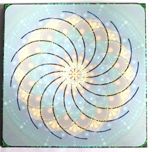 12″ Torus Mandala Stencil