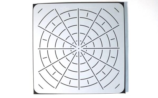 Mandala divider stencils