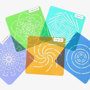 Mandala Stencil Dot Painting Design Collection
