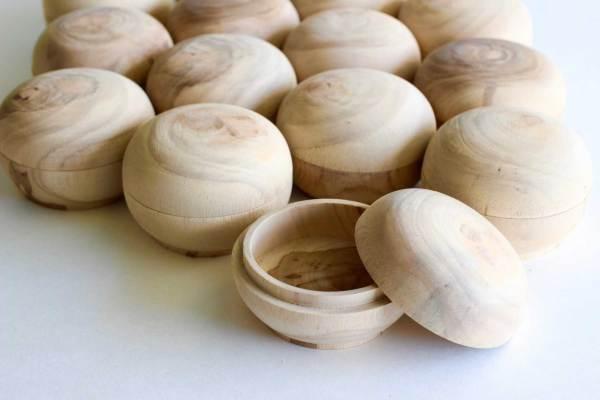 Mahogany Wood Boxes