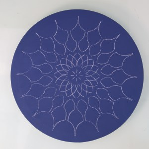 12″ Mandala 1 Reversible Stencil