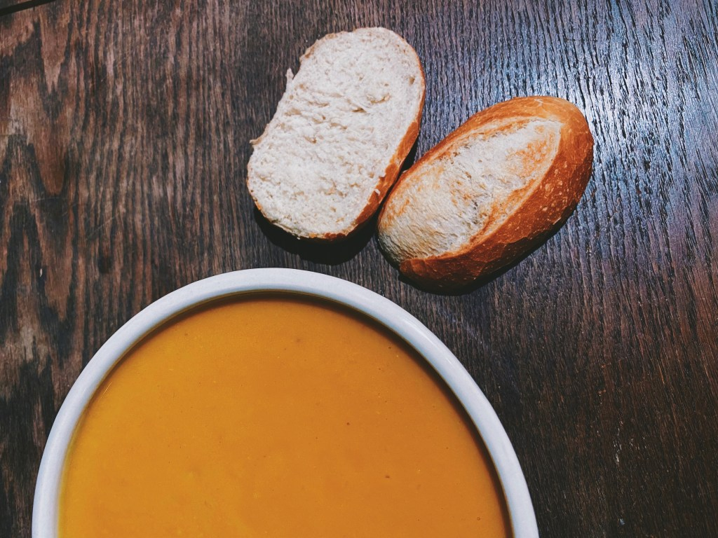 Sweet Potato & Parsnip Soup