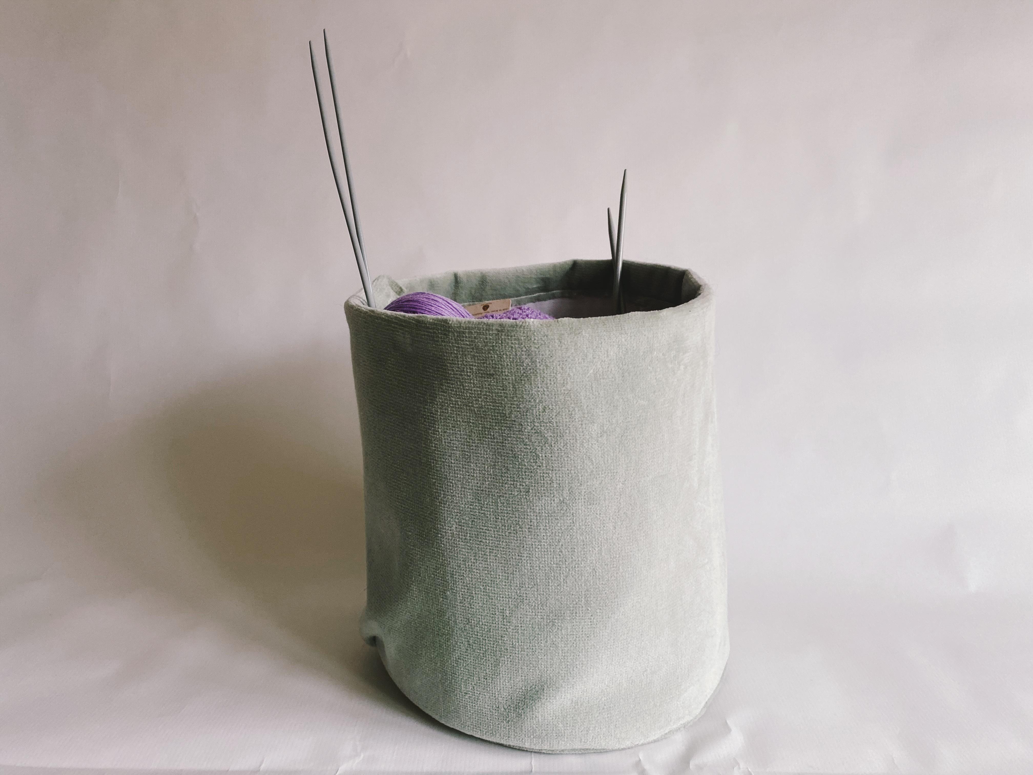 Velvet Basket - Handmade