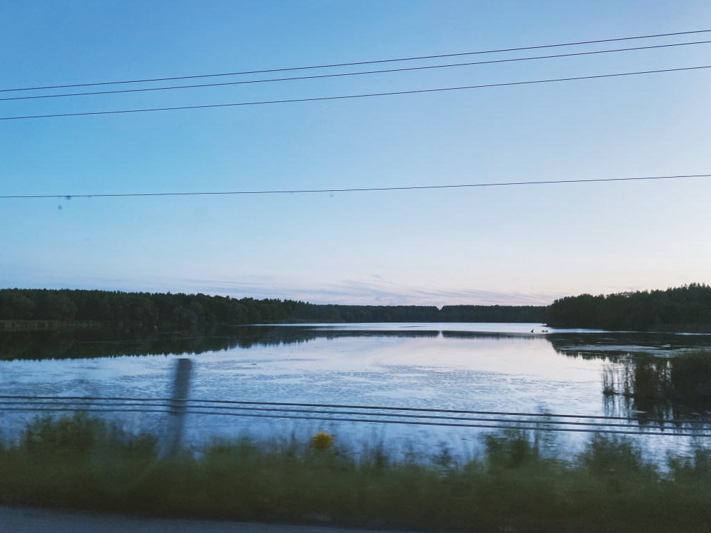 rural ontario lake