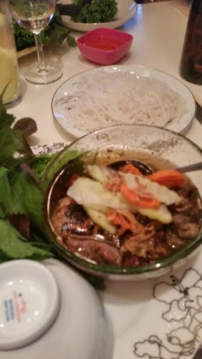 Bun Cha Ha Noi (hanoi rice vermicilli)