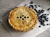 Double-Crust Blueberry Pie