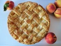 Honeyed Peaches n' Cream Pie