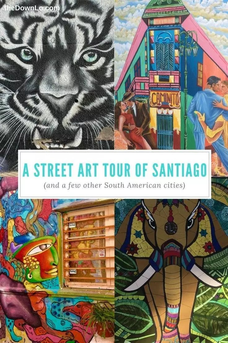 The best street art in Santiago. A mural tour and photography trip to Santiago, Chile, Buenos Aires, and beyond.