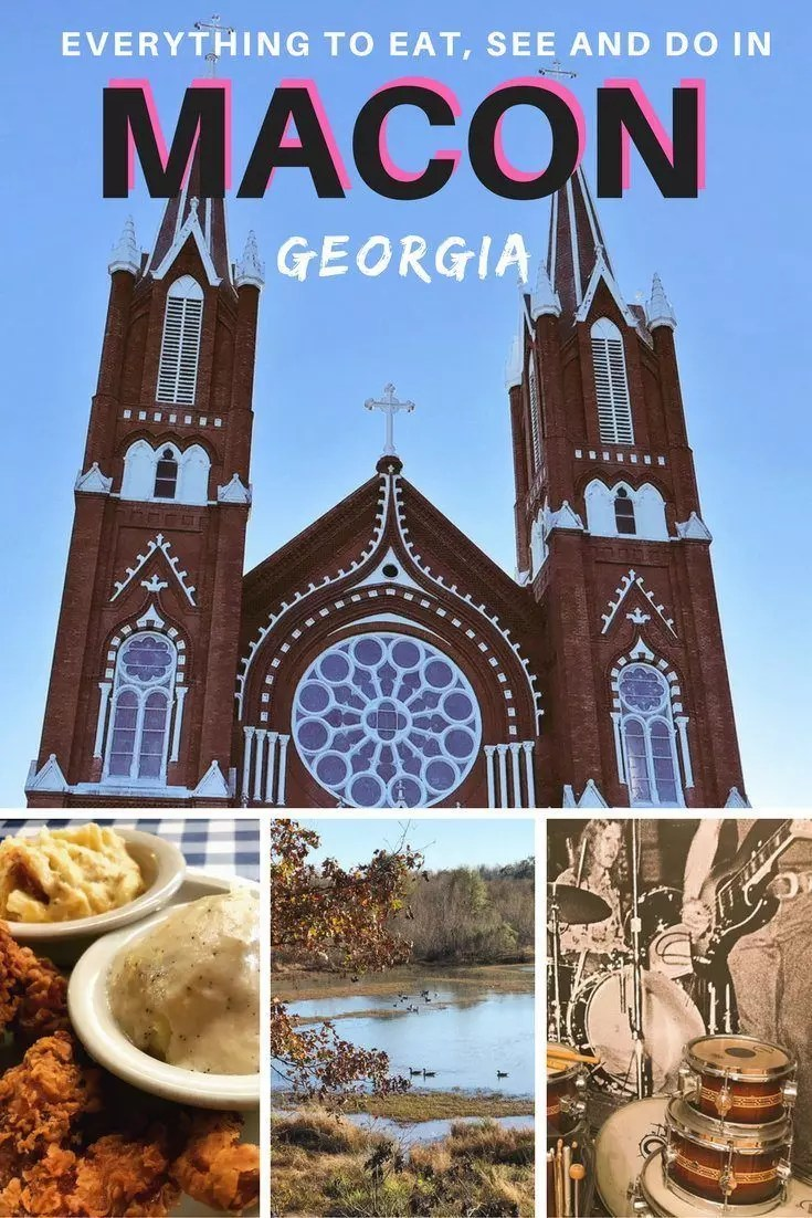 The best things to do in Macon, Georgia. What to do in Macon, attractions, places to go and eat in Macon. #macon #ga #georgia