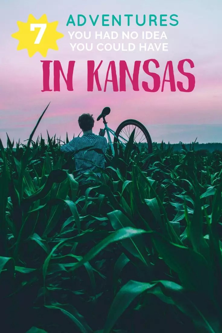 Adventures and things to do in Kansas. The best places to go for a weekend getaway in the Midwest. Surprising fun things to do in Wichita, Kansas City, Topeka and beyond. #ks #kansas