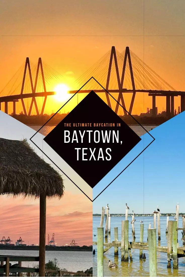 Welcome to Texas' most interesting and completely unknown getaway - the secret beaches outside Houston - Baytown. #usa #travel #america #texas #roadtrip