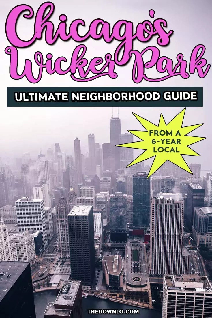The ultimate local's guide to one of Chicago's best neighborhoods. Wicker Park restaurants, bars, and things to do -- everywhere to eat and imbibe. #chicago #usa #neighborhood