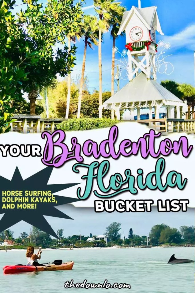 Things to do in Bradenton Beach, Florida from best restaurants and food to travel vacation guides near Tampa. Photography, adventure, and picture ideas for life and traveling near Clearwater and St. Petersburg. Visit beaches, unusual things to do with kids, with friends and animals and cheap and free attractions. #fl #bradenton