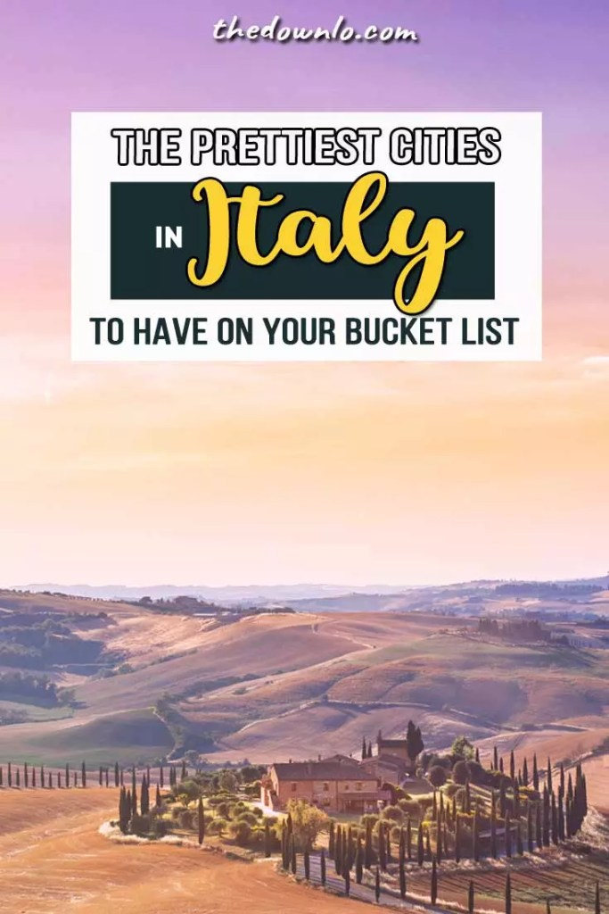 Looking for Italy travel info? These are the most beautiful places for photography and adventure, inspiring pictures and dream photos of Rome, Venice, Cinque Terre, Sorrento, Capri and the Amalfi Coast that'll make you want to plan a bucket list trip to Italy. The prettiest Instagram pics and best cities if you're wondering where to go on vacation in Italy. Places to visit include nature, beaches, Europe architecture destinations, and travel tips for romantic and aesthetic sights. #Italy #travel