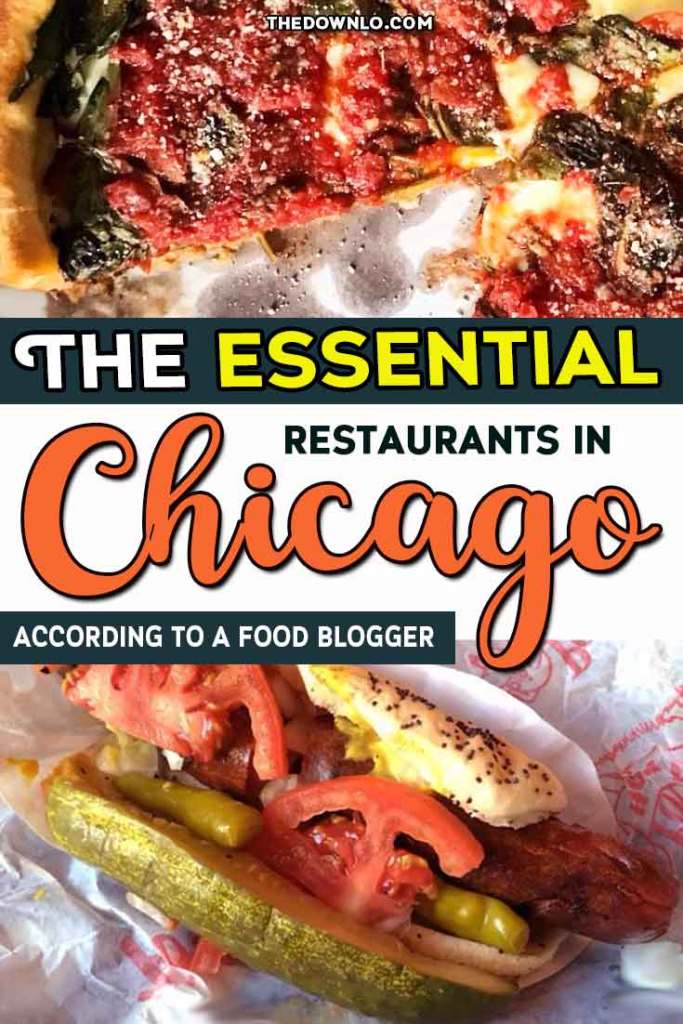 Looking for the best restaurants in Chicago? Famous Chicago food spans every dining niche from hot dogs and deep dish pizza to steakhouses, seafood and Italian. If you're looking for bucket list dining experiences to eat your way around the Windy City I have reccs for everything from brunch to burgers for the best cuisine in Illinois. Because only in the second city is eating actually a serious thing to do. Now that's my kind of town! #chicago #food #america #travel #usa #restaurant #restaurants