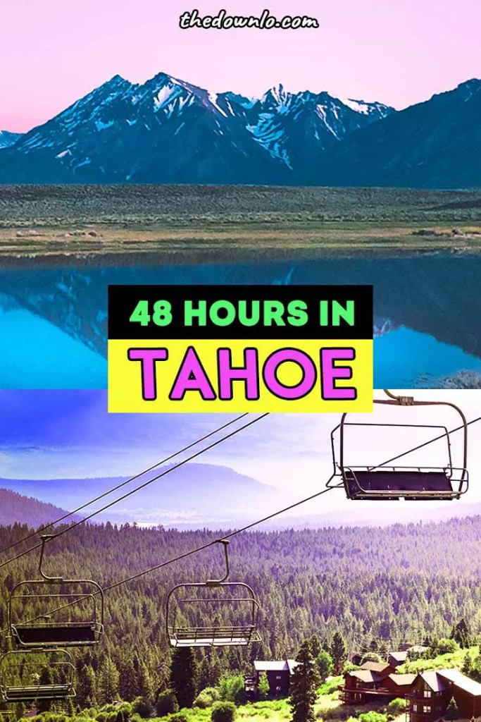 Things to do in South Lake Tahoe this Winter. Where to ski (Heavenly), eat, nightlife, hike and play for a girls weekend, couples getaway or with kids. The ultimate restaurant and Instagram photography guide for pictures and food from snow to Emerald Bay and activities downtown and what to do on the trails.  #nevada #tahoe #tahoesouth #laketahoe #wintertravel #winter