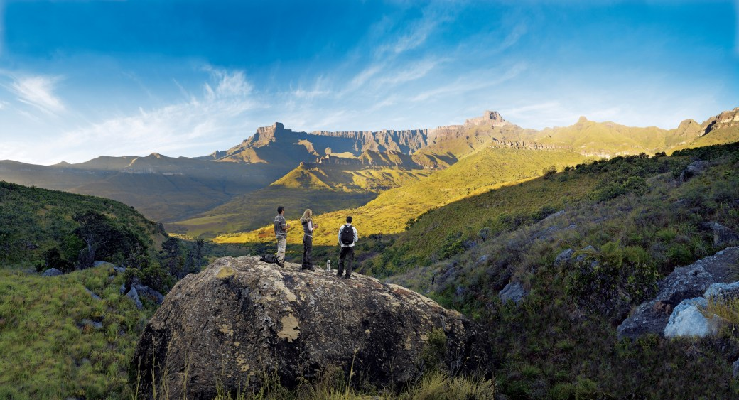 The Drakensberg's Amphitheatre (Source: South African Tourism)
