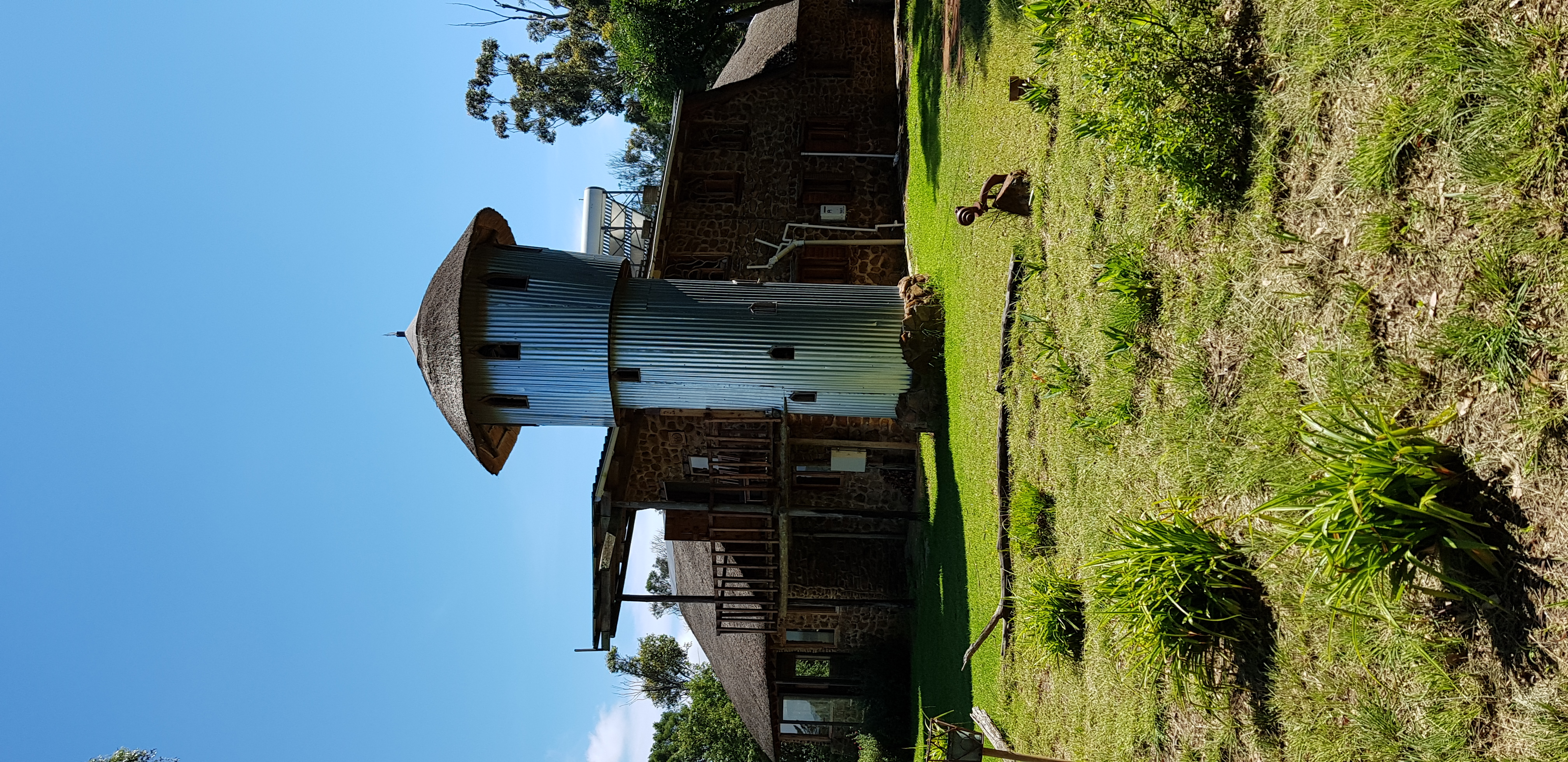Unusual Tower Structure, on the outskirt  of Antbear's conference or chapel facility.