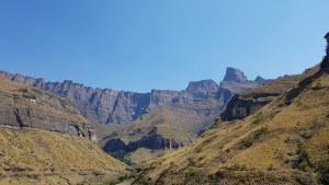 The Amphitheater, Northern Drakensberg.