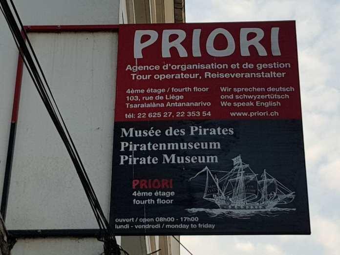museums in Antananarivo: pirates museum madagascar
