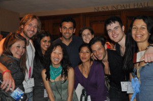 At the Tony Robbins seminars in Bali, Indonesia