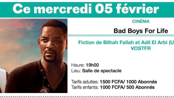 Cinéma: Bad Boys For Life