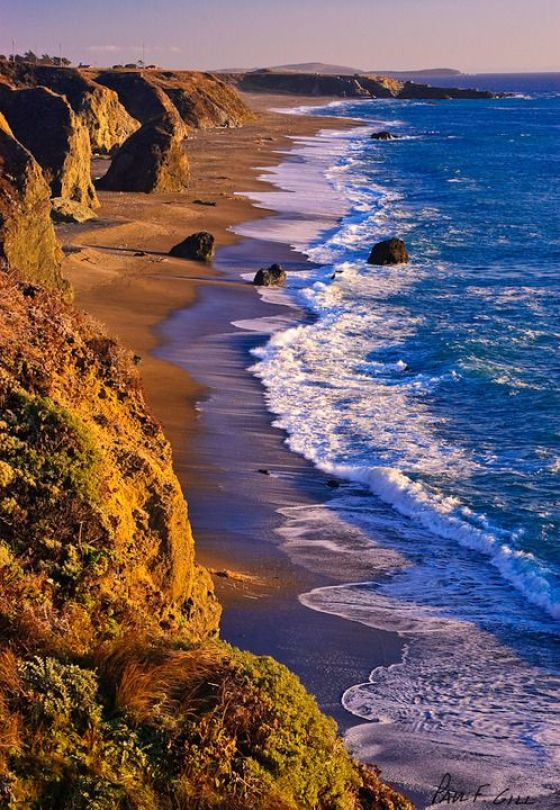 Evening Light Sonoma Coast
