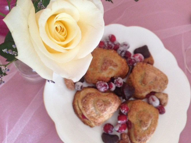 Cranberry Curd Hand Pies