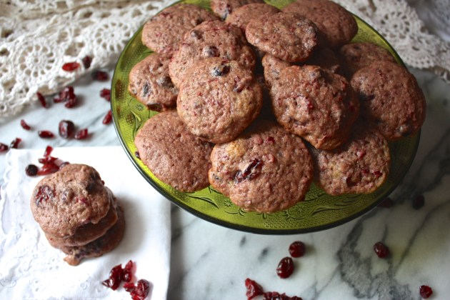 Double Cranberry Chocolate Chip Cookies