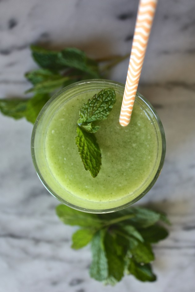 Hydrating Melon Mint Smoothie