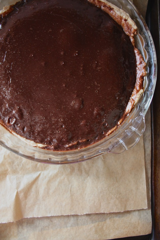Chocolate Irish Cream Pie