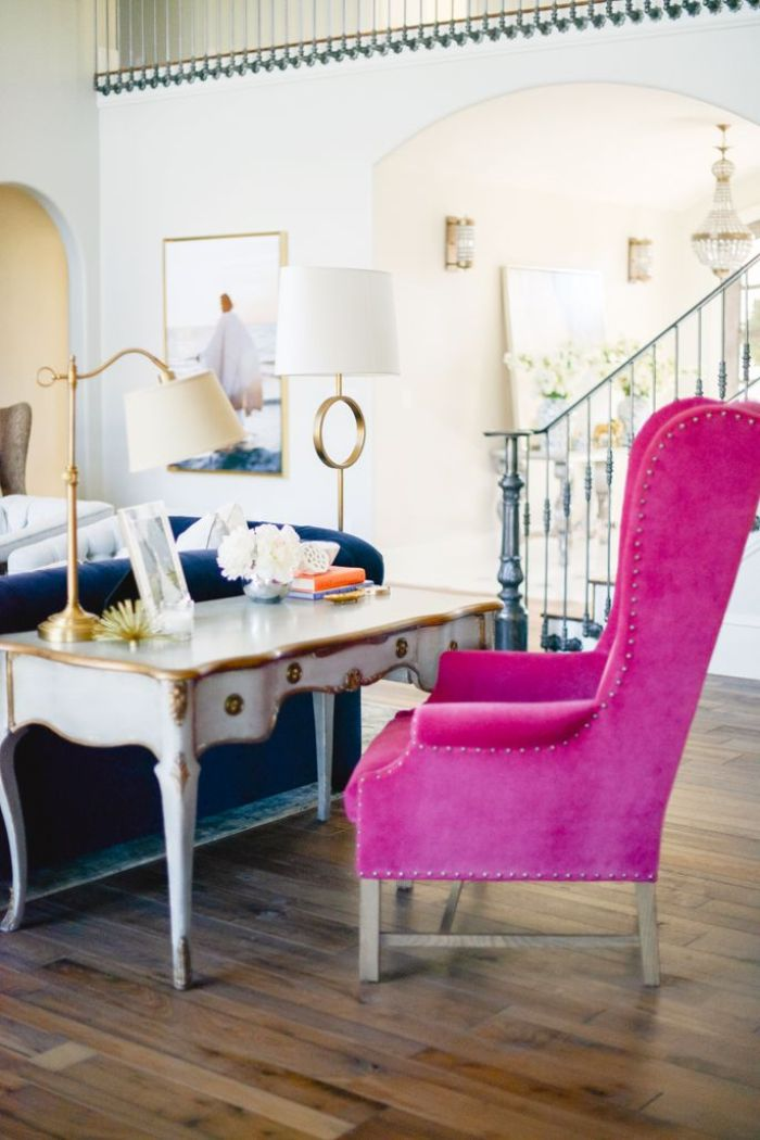 From White to Bright: Accent Chairs