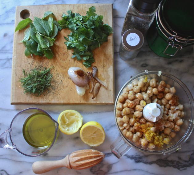 Lemon Herb Hummus