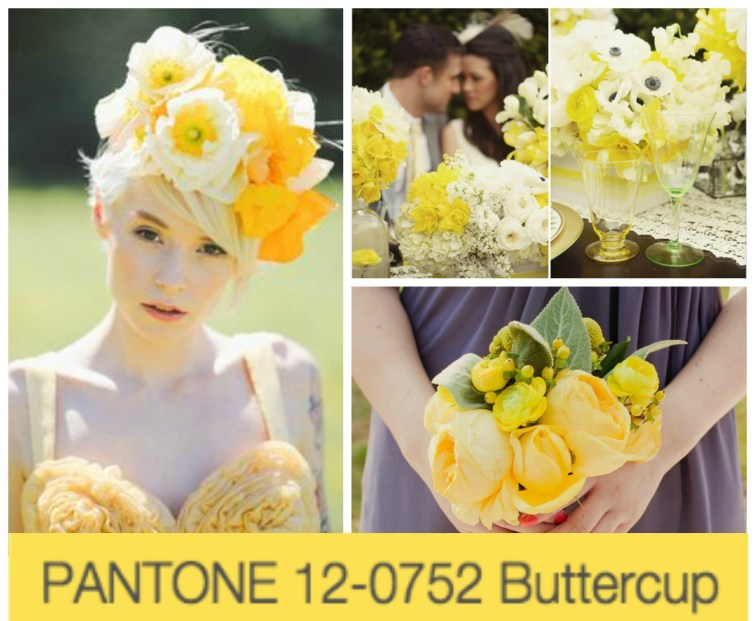 Pantone's 2016 Wedding Colors