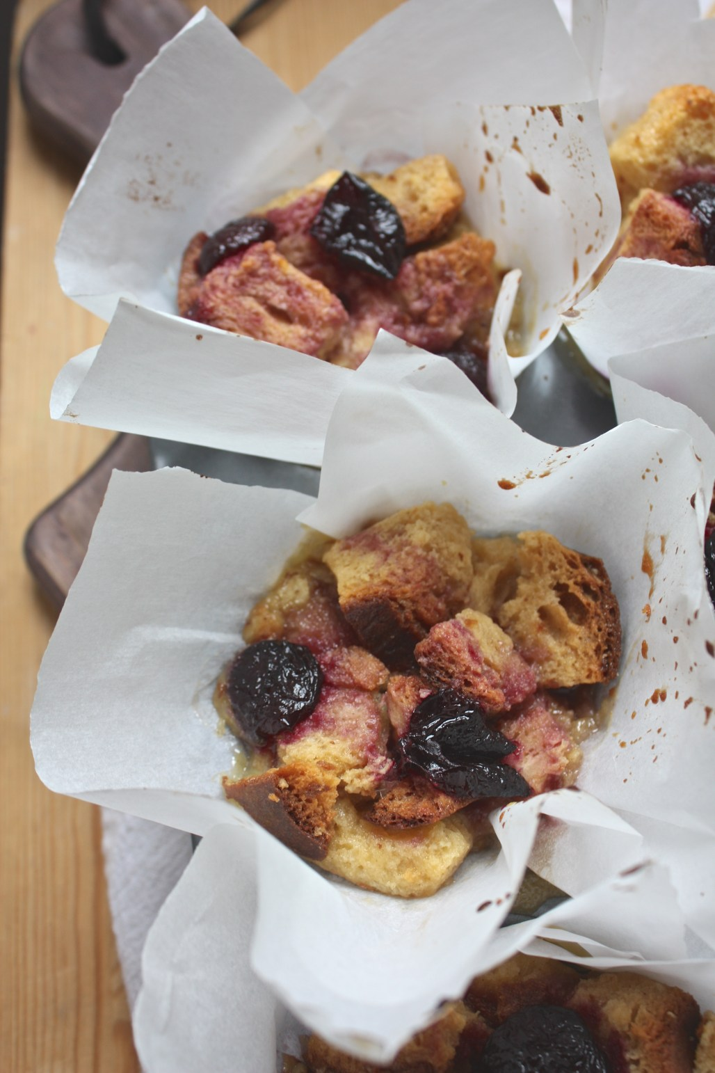 Cherry Jubilee Bread Pudding