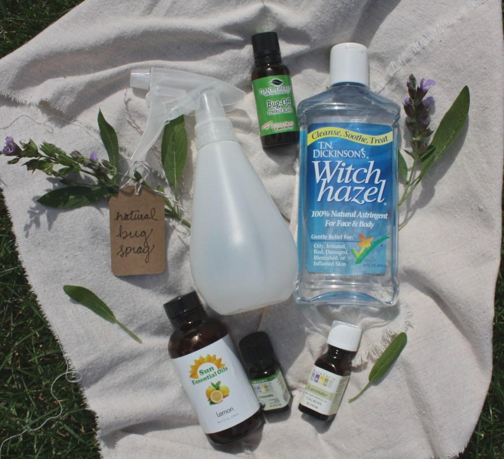 Natural Bug Spray DIY