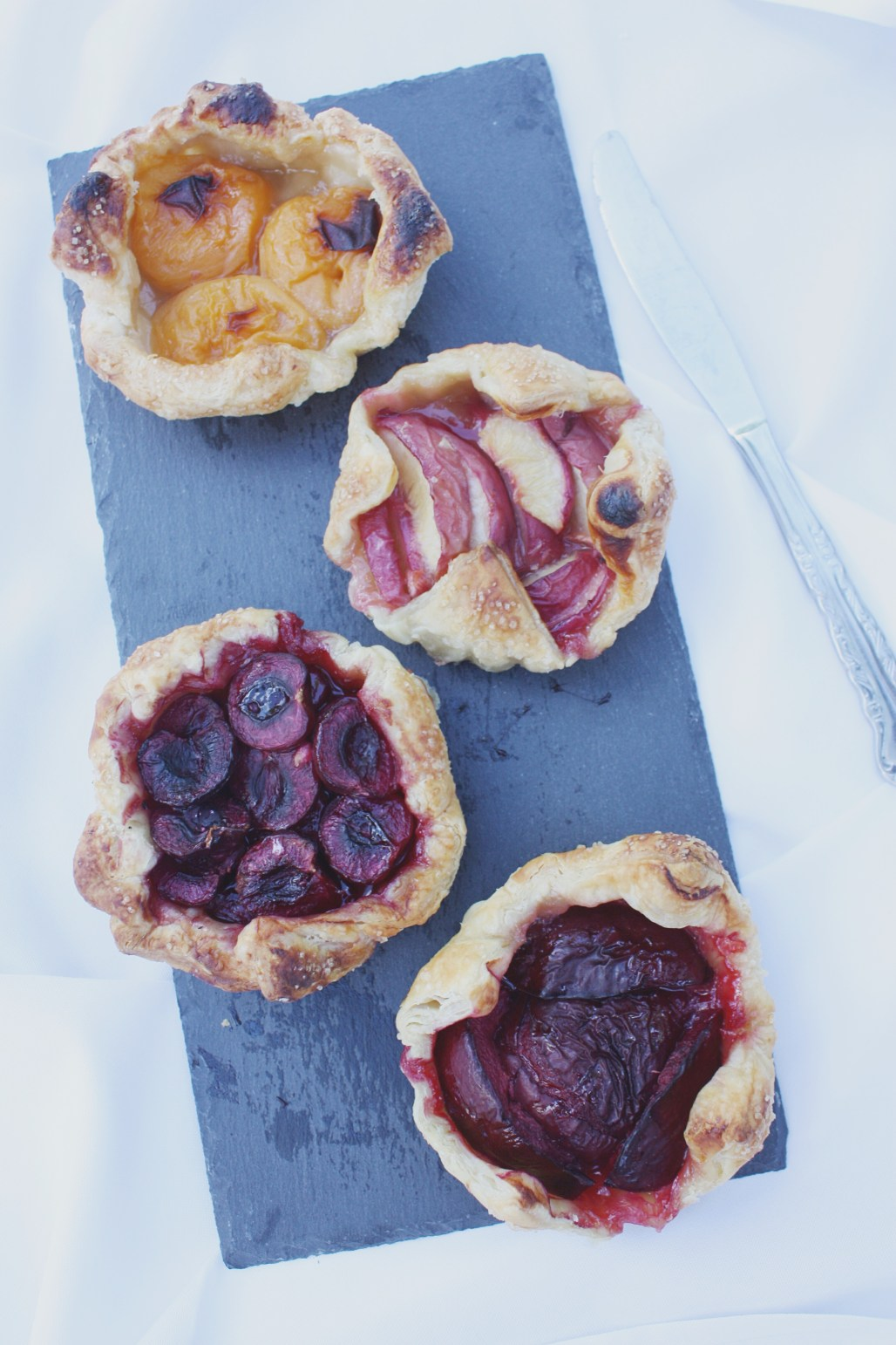 Mini Summer Fruit Galettes