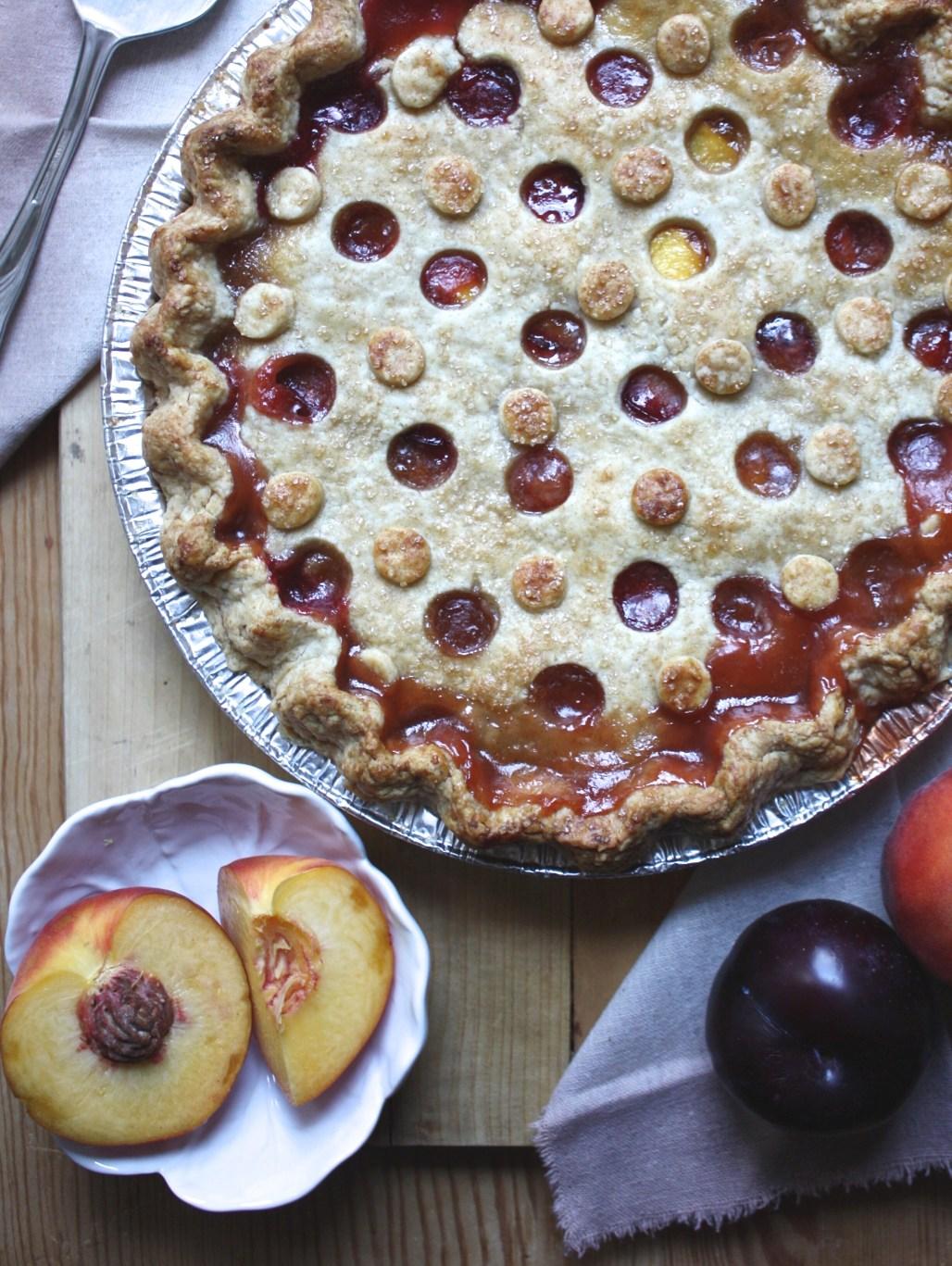 Peach Plum Pie