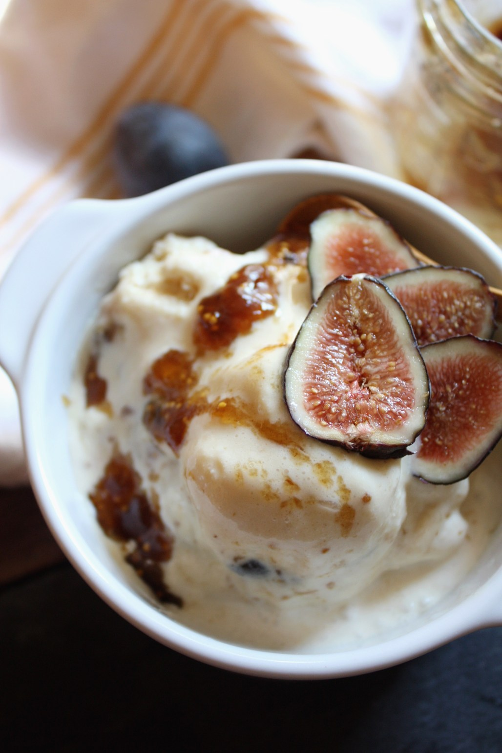 Brown Sugar Fig Ice Cream | Dreamery Events