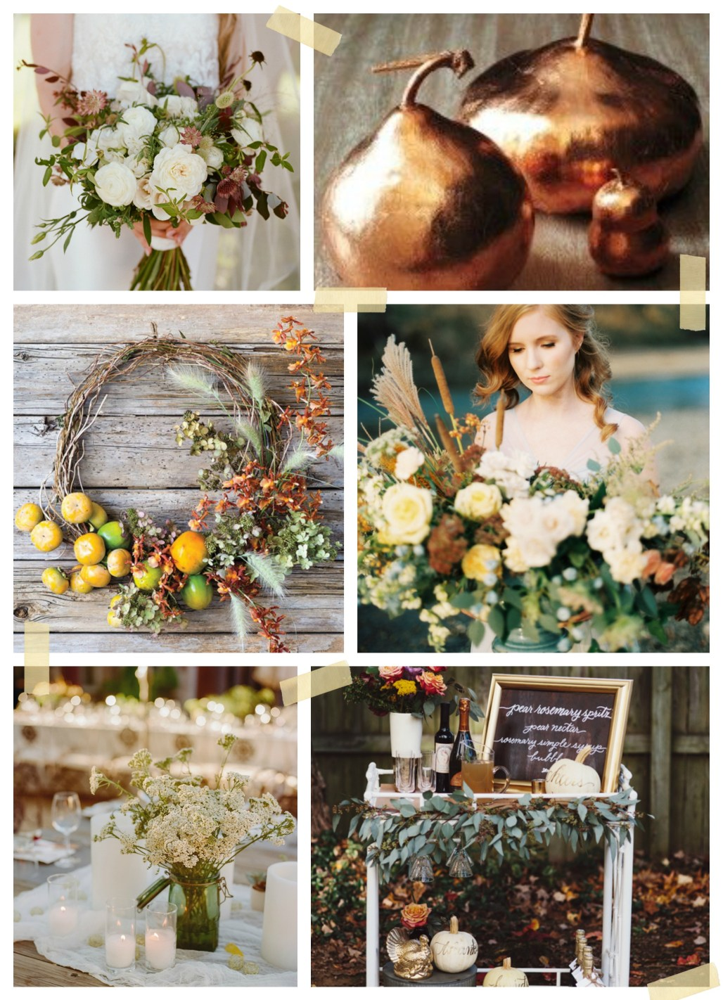 Autumn Tablescape Moodboard